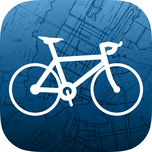 Bike Maps Icon